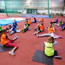 Primer atletskog dečijeg treninga