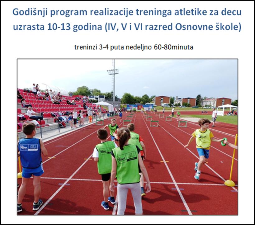 Godišnji sportski programi