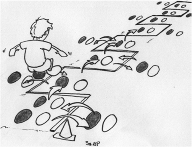 Primer treninga atletike za mlađe pionire
