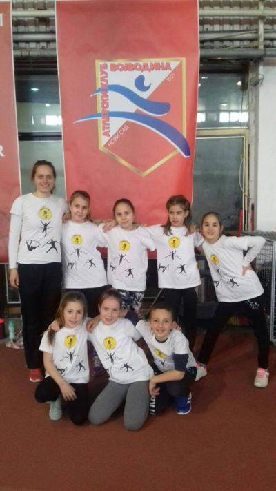 KIDS ATHLETICS Prvenstvo Vojvodine 23.02.2019.
