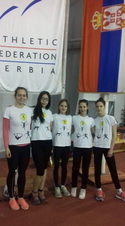 Prvenstvo Srbije za starije pionire, Beograd 3.03.2019.